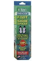 Dr. Blaine's Tineacide Antifungal Foot & Shoe Spray Review