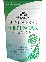 Mountainbreeze Natural Funga-Free Foot Soak for Athlete's Foot